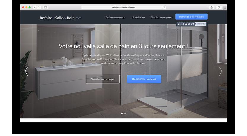 France Douche Refaites Votre Salle De Bain En 3 Jours
